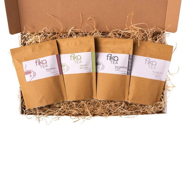 4 íz tea csomag - különleges tea válogatás