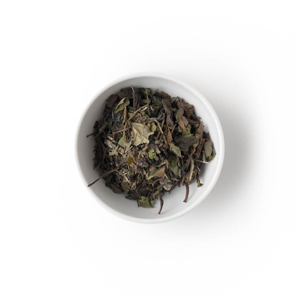 Pai mu tan fehér tea ár 2